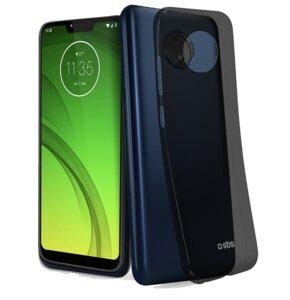 Etui SBS Skinny do Motorola Moto G7 Power Czarny transparentny