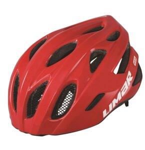 Kask rowerowy LIMAR 555 Czerwony Szosowy (rozmiar L)