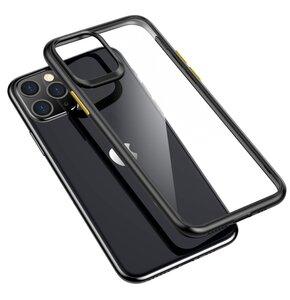 Etui ROCK U Shield do iPhone 11 Przezroczysto-Czarny