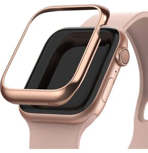 Etui RINGKE Bezel Styling do Apple Watch (40 mm) Różowo-złoty