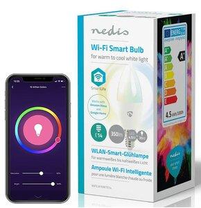 Inteligentna żarówka LED NEDIS WIFILW10WTE14 4.5W E14 WiFi