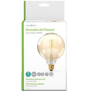 Żarówka LED NEDIS LEDBTFE27G125 5W E27