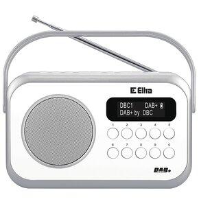 Radio ELTRA Natalia DAB+ Biały
