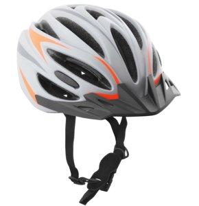 Kask rowerowy VÖGEL VKA-926GO Szaro-pomarańczowy MTB (rozmiar S/M)