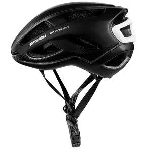 Kask rowerowy SPOKEY City Czarny (rozmiar 58-61)