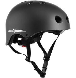 Kask rowerowy NILS EXTREME MTV12 Czarny (rozmiar XL)