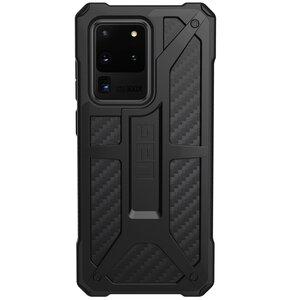 Etui UAG Monarch do Samsung Galaxy S20 Ultra Carbon Fiber Czarny