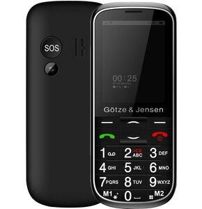 Telefon GÖTZE & JENSEN GFE37 Czarny