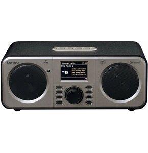 Radio internetowe LENCO DIR-140BK Czarny