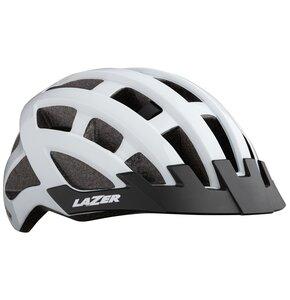 Kask rowerowy LAZER Compact Biały MTB (rozmiar 54 - 61)