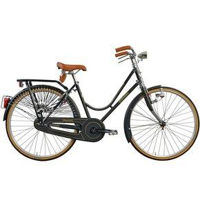 Rower miejski LEGNANO L101 Viaggio D1B 26 cali damski Czarny