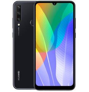 "Smartfon HUAWEI Y6P 3/64GB 6.3"" Czarny 51095KYP"