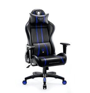 Fotel DIABLO CHAIRS X-One 2.0 (L) Czarno-niebieski