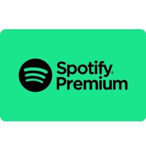Karta podarunkowa Spotify Premium 60 zł