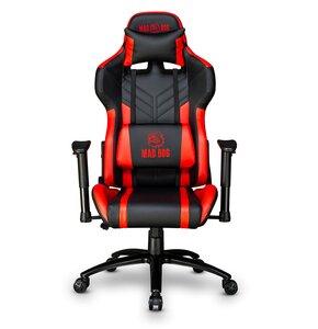 Fotel gamingowy MAD DOG GCH700 odchylenie 180 stopni ciche kółka
