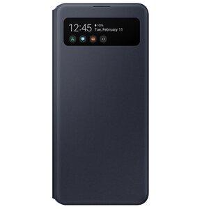 Etui SAMSUNG S View Wallet Cover Galaxy A41 Czarny