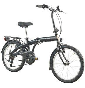 Rower miejski ESPERIA Kelly 6B 20 cali damski Czarny