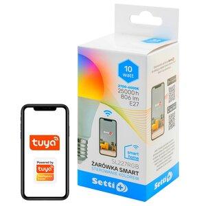Inteligentna żarówka LED SETTI+ SL227RGB 10W E27 WiFi
