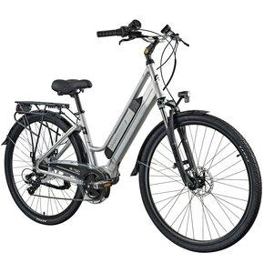 Rower elektryczny ESPERIA Agata D17 28 cali damski Szary mat