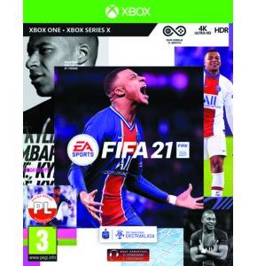 FIFA 21 Gra XBOX ONE (Kompatybilna z Xbox Series X)
