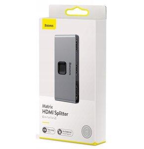 Adapter HDMI - 2 x HDMI BASEUS Matrix