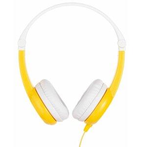 Słuchawki nauszne BUDDYPHONES Connect Biało-żółty