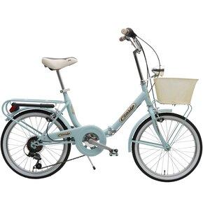 Rower miejski CINZIA Smarty 6B 20 cali damski Turkusowy