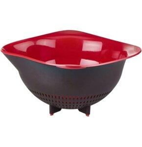 Durszlak TEFAL Ingenio K2070614 Czarno-czerwony