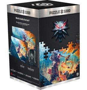 Puzzle CENEGA Wiedźmin: Griffin Fight (1000 elementów)