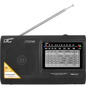 Radio LTC LXLTC2026 Czarny
