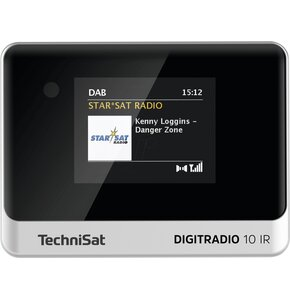 Radio internetowe TECHNISAT Digitradio 10 IR Czarno-srebrny