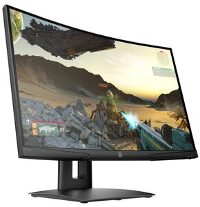 """Monitor HP X24C 23.6"""" 1920x1080px 144Hz 4 ms Curved"""