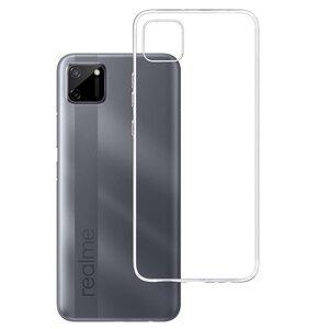 Etui 3MK Clear Case do Realme C11 Przezroczysty