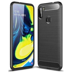 Etui TECH-PROTECT AirCarbon do Samsung Galaxy M11 Czarny