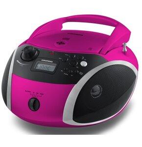 Radioodtwarzacz GRUNDIG RCD 1500 BT Różowy