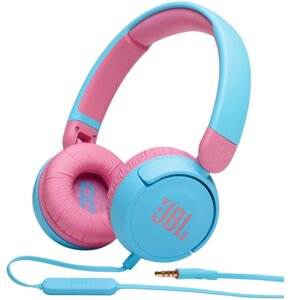 Słuchawki nauszne JBL JR310 Różowo-niebieski