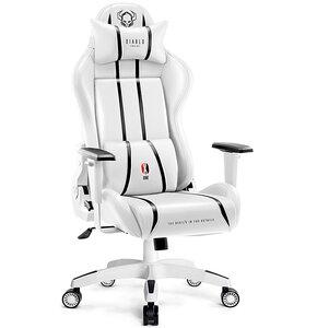 Fotel DIABLO X-ONE 2.0 Normal Size Biało-czarny