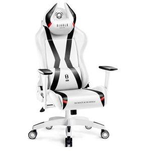 Fotel DIABLO CHAIRS X-Horn 2.0 (L) Biało-czarny