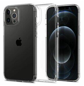 Etui SPIGEN Ultra Hybrid do Apple iPhone 12/12 Pro Przezroczysty