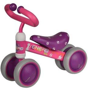 Rowerek biegowy ENERO Love Kitty Różowo-fioletowy