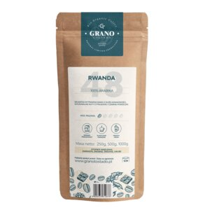 Kawa ziarnista GRANO TOSTADO Rwanda Arabica 1 kg