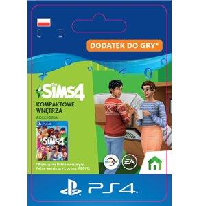 Kod aktywacyjny The Sims 4: Kompaktowe wnętrza Gra PS4