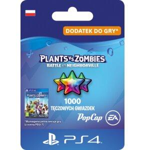 Kod aktywacyjny Plants vs. Zombies: Battle for Neighborville 1000 Tęczowych Gwiazdek