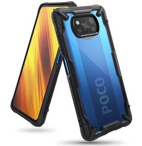Etui RINGKE Fusion X do Xiaomi Poco X3 NFC/X3 Pro Czarny