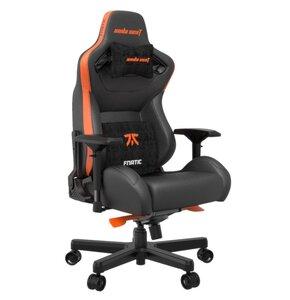 Fotel ANDA SEAT Fnatic Edition Premium Czarno-pomarańczowy