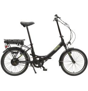 Rower elektryczny ORUS E2100 M17 20 cali męski Czarny