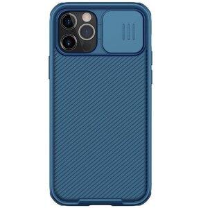 Etui NILLKIN CamShield Pro do Apple iPhone 12/12 Pro Niebieski