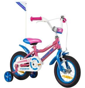 Rower dziecięcy INDIANA Roxy Kid 12 cali dla dziewczynki Różowy