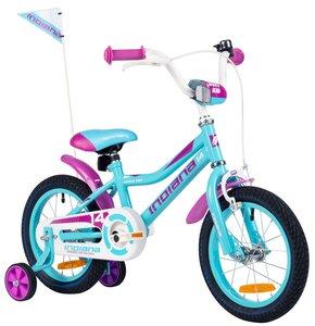 Rower dziecięcy INDIANA Roxy Kid 14 cali dla dziewczynki Turkusowy
