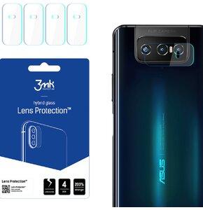 Szkło hybrydowe 3MK Lens Protection do Asus Zenfone 7